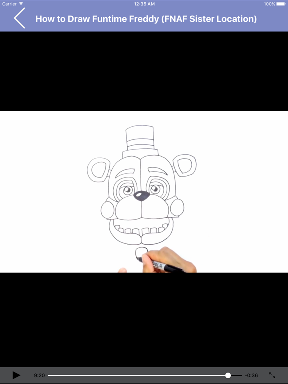 Learn to Draw Popular Characters Step by Step for iPad screenshot two