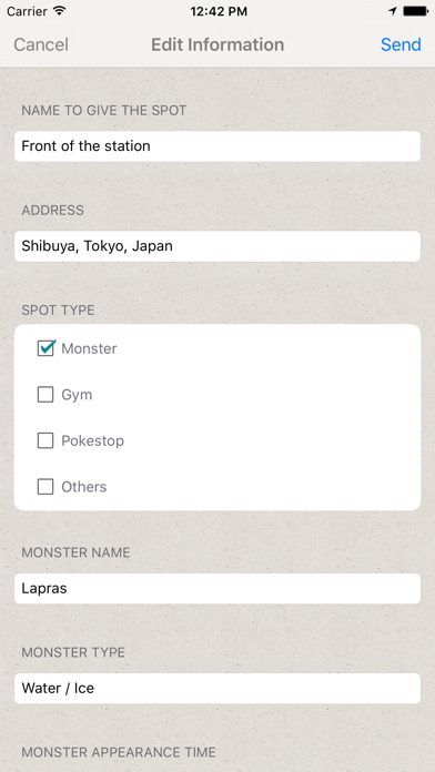 GO MAP! MAPA información comercial de Pokemon GOCaptura de pantalla de5