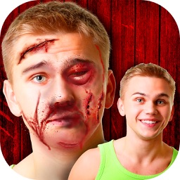 Scar Face Maker – Best Art Photo Montage Editor with Cool Camera Stickers for Awesome Pranks