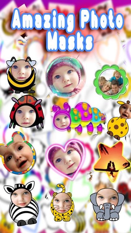 Baby Faces Photo Frames Pro screenshot-4