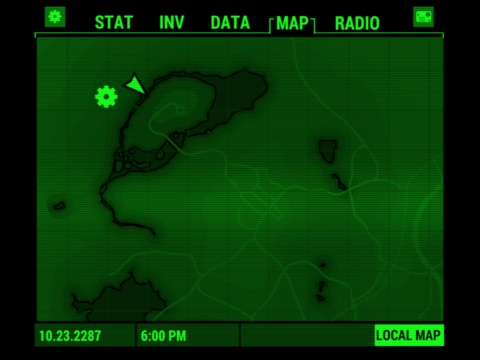 Fallout Pip-Boy ipad images