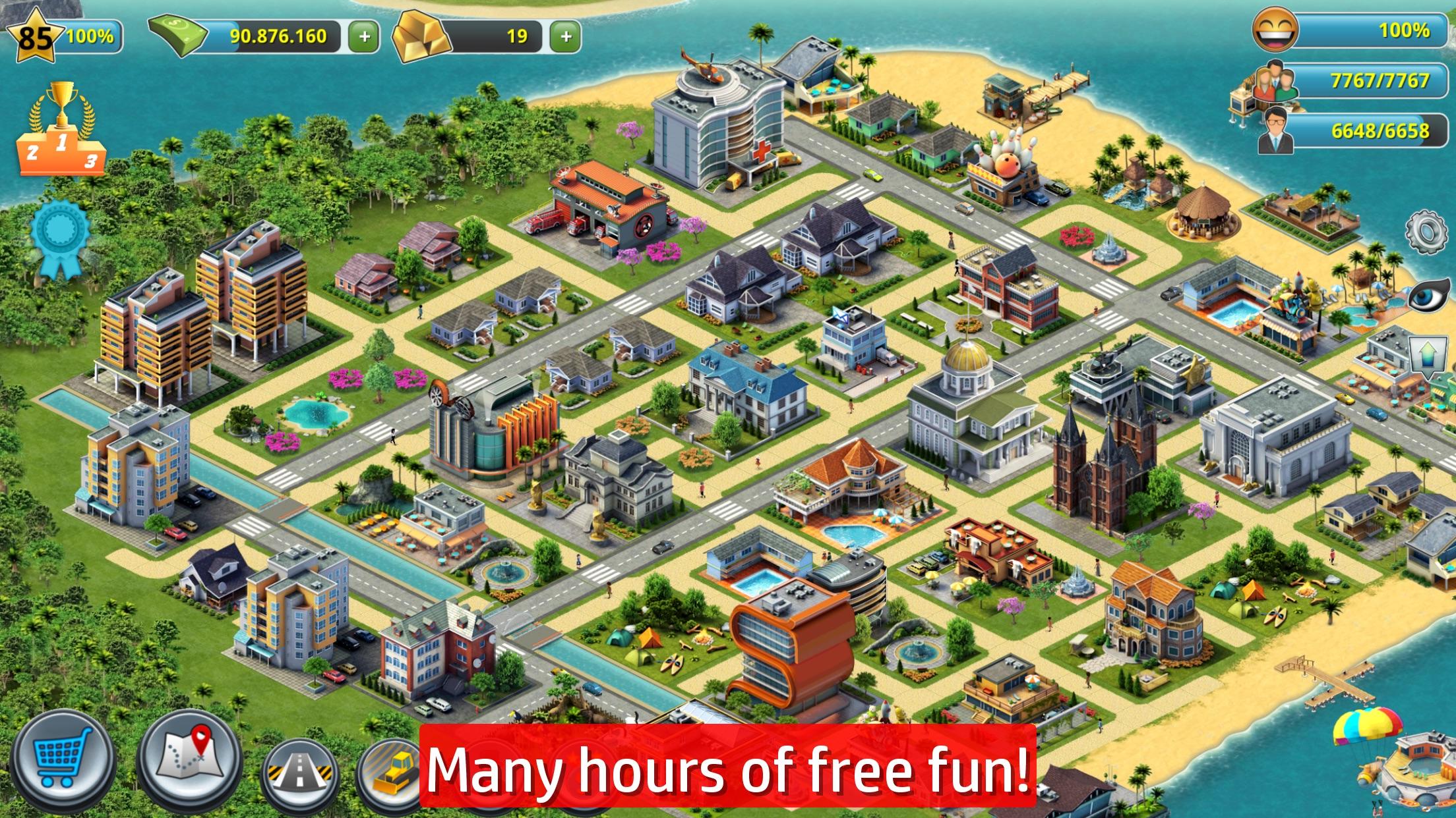 City Island 3 - Building Sim Village to Megapolis Screenshot