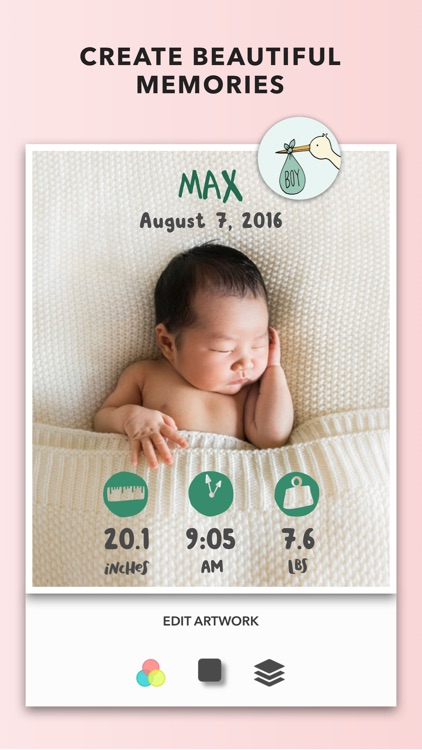 Adorable - Baby Photo Editor for your Baby Pics