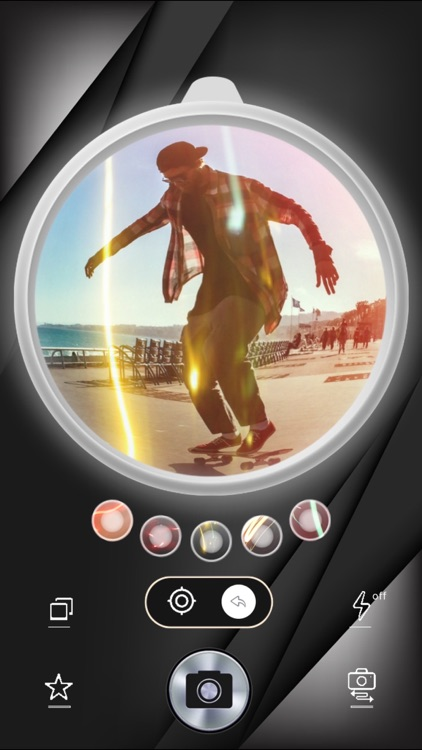 Fisheye Camera PRO - ultra wide-angle lens and lighting filters