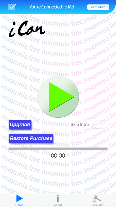 Insomnia Free: iCan Hypnosis with Donald Mackinnon  Learn