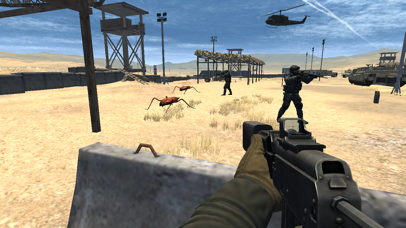 Modern Commando Desert Combat Shooting Clash Game