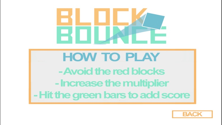 Block Bounce FREE - Avoid The Red Blocks