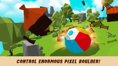 Pixel Giant Deadly Rock