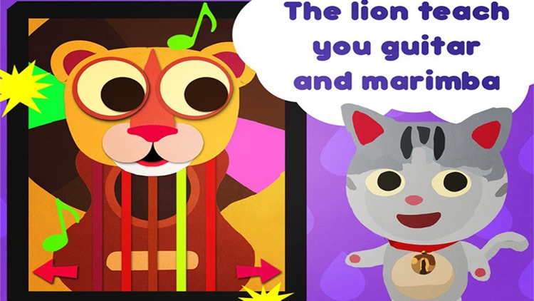 Animal sound box – learn music with cute animals – musical app for for Baby infant and little children screenshot-3