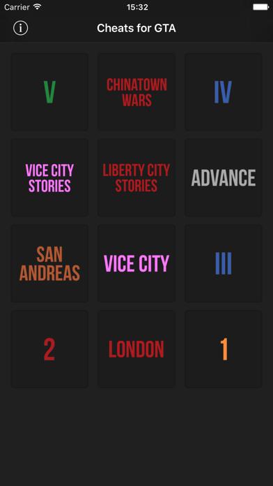 Foto do Cheats for GTA - Códigos para todos jogos da série Grand Theft Auto
