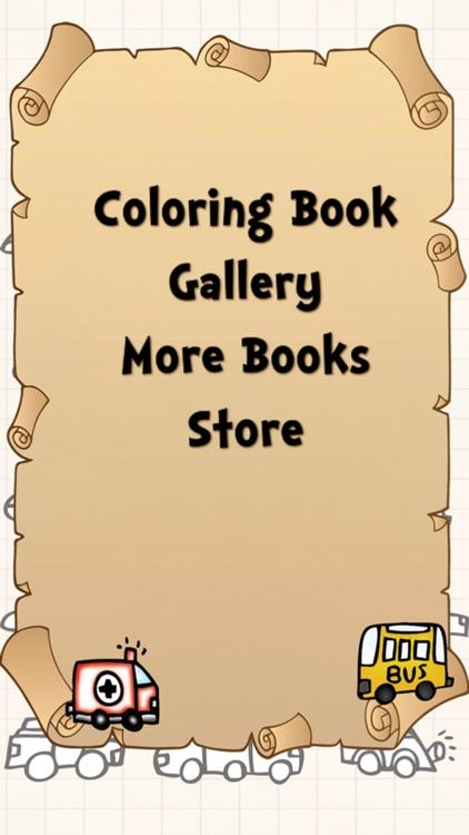 Coloring Book - Cars screenshot-3