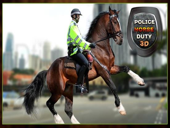 Mounted Horse Police Officer Chase & Arrest Criminals-ipad-4