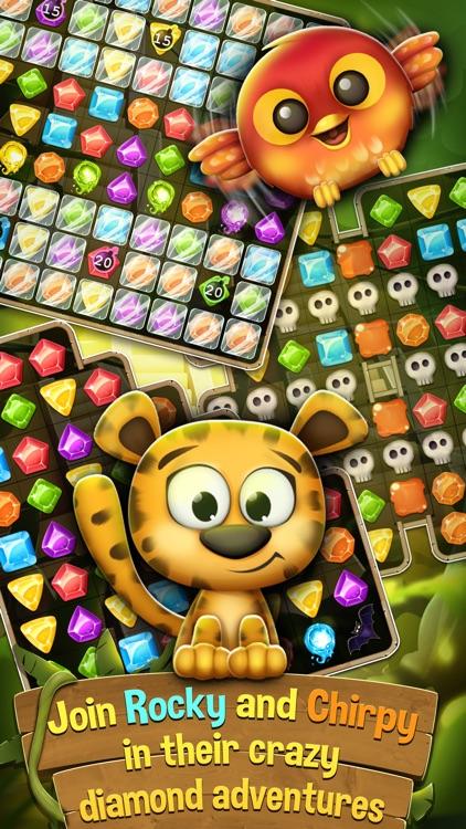 Diamonds and Jewels Match 3 Game - Matching Quest screenshot-3