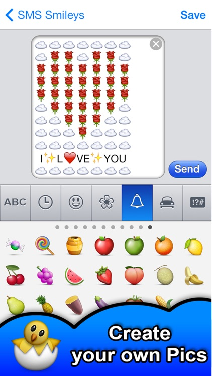 SMS Smileys - Emoji Smile Pics screenshot-3