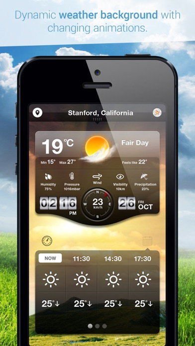 how to cancel weather live on iphone
