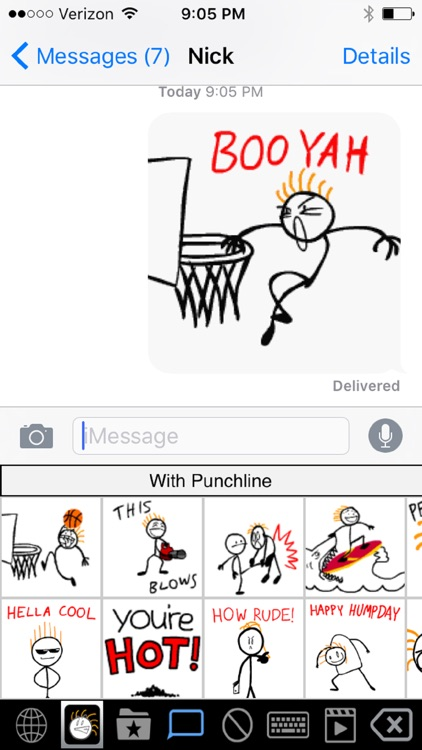 Stick Texting Emoji Killer screenshot-4