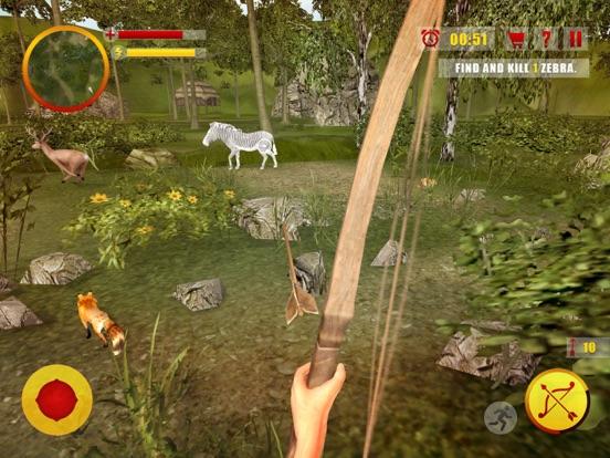 Джунгли охота Стрельба из лука Мастер - Лук и стре для iPad
