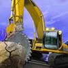 Heavy hill climb cutter excavator 3d