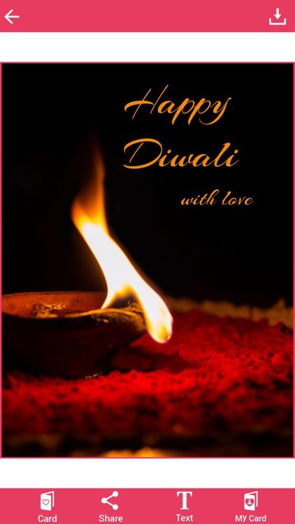 Diwali Greetings Card screenshot-3