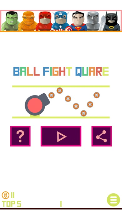 Ball Fight Square