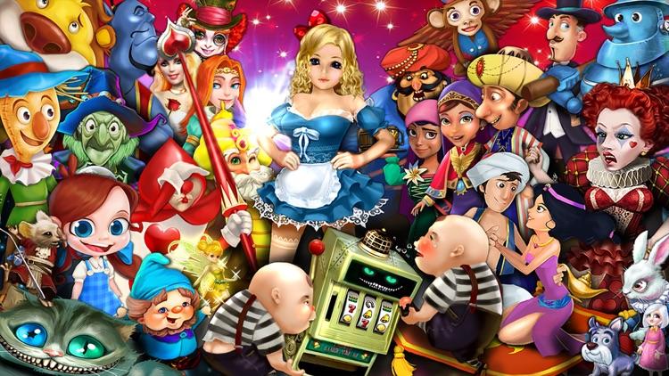 Slots in Wonderland - Las Vegas Free Slots Machines screenshot-0