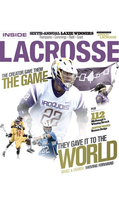 Screenshot for Inside Lacrosse in United States App Store
