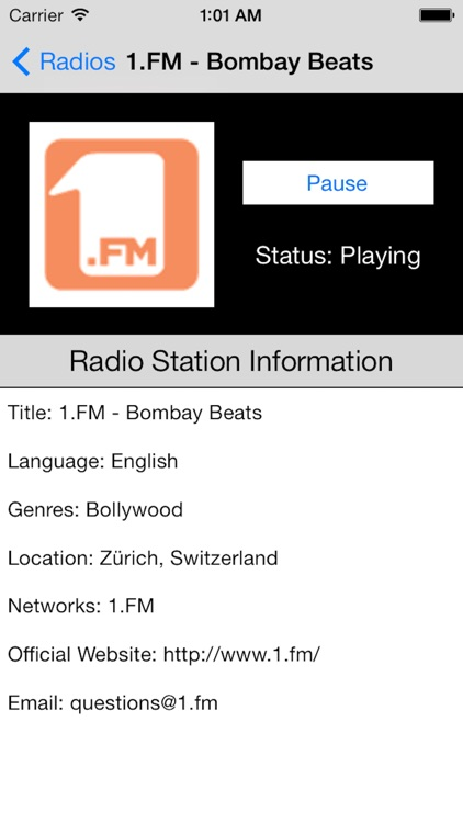 India Radio Live Player (Tamil / Hindi / Indian) screenshot-3