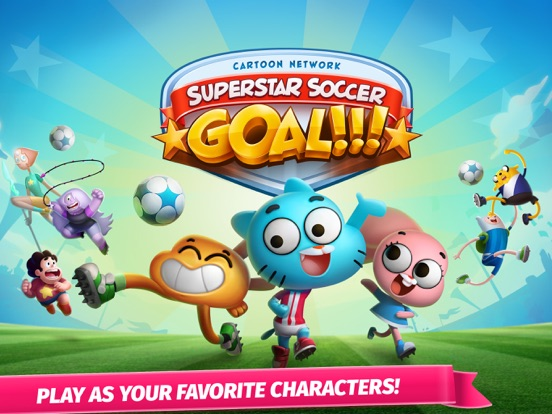 Cartoon Network Superstar Soccer: Goal!!! – Multiplayer Sports Game Starring Your Favorite Characters на iPad