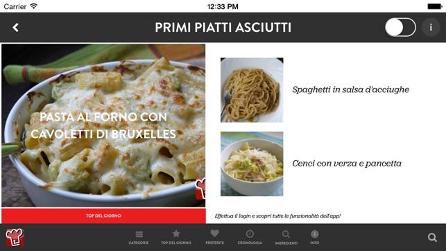 Ricette per cucinare su app store for Ricette per cucinare