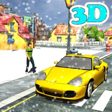 Activities of Winter Taxi Parking Simulator - taxi driver games,parking games