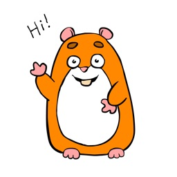 Hamster Emoji Stickers