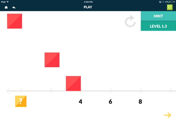 Number Line Touch: Multiplication