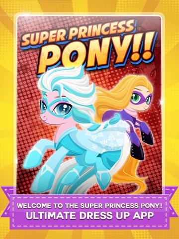 Супер Пони Hero Girl - Моя маленькая принцесса Пони одеваются игры бесплатно на iPad