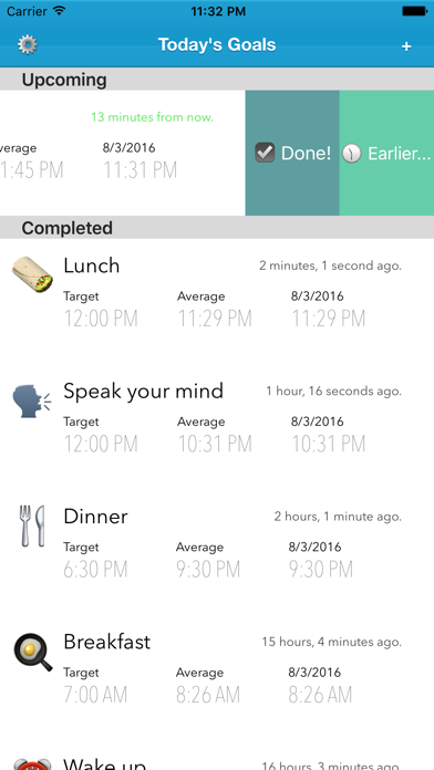 Routinely - track your daily routine Screenshot on iOS