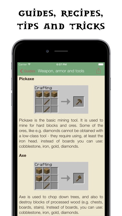 Pocket Wiki for Minecraft