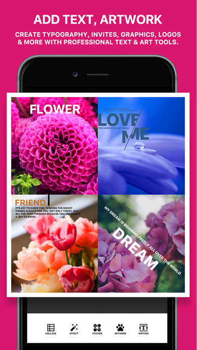 Photo Poster - Photo Effects & Cool Image Filters for Instagram Snapchat Prisma ScreenShot1