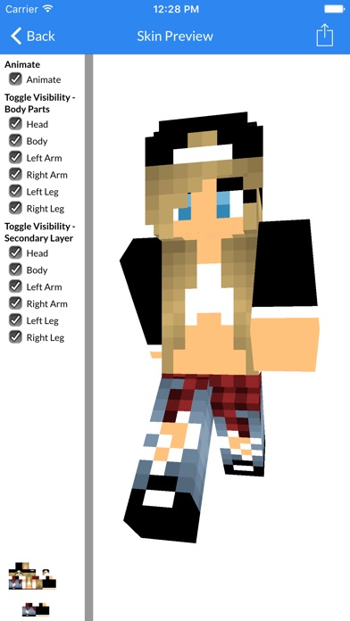 Best Cute And Sexy Girl Skin Of New Best Skins For Minecraft - Skin para o minecraft pocket edition