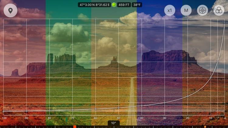 Range Finder - ultimate distance and angle measurement tool with augmented reality and compass screenshot-4