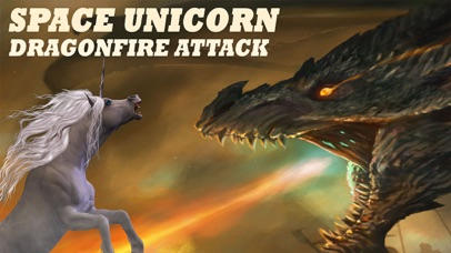 Space Unicorn Dragon Flame Attack - Deadly Wyvern Pegasus