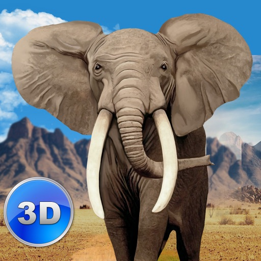 Big Elephant Simulator: Wild African Animal 3D icon