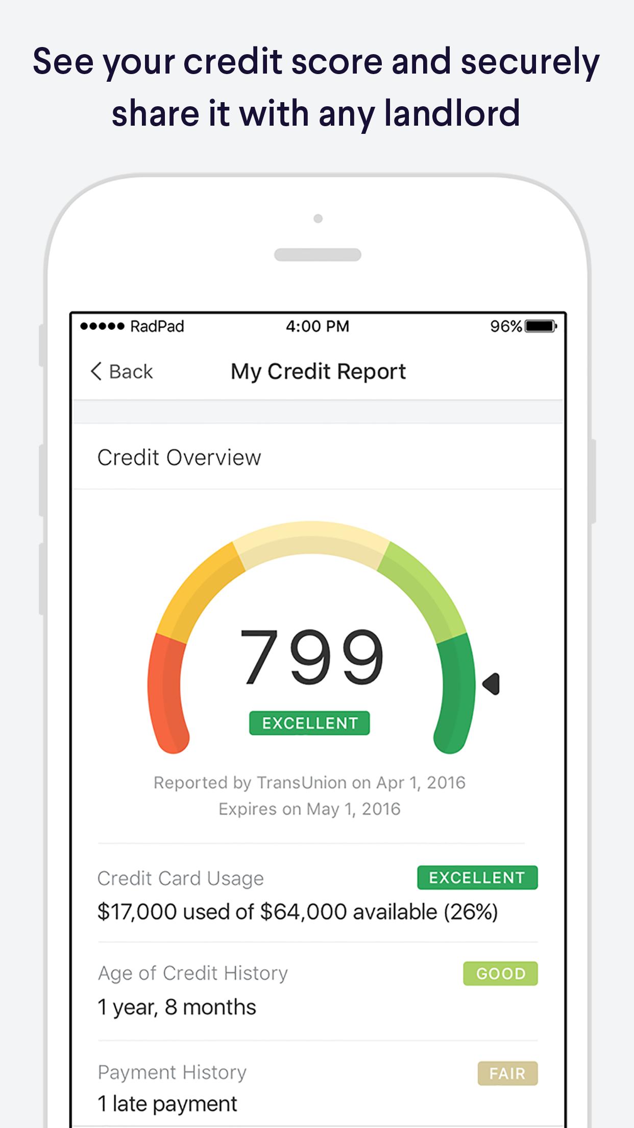 RadPad Screenshot