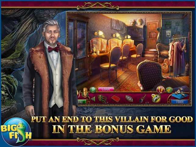 Danse Macabre: Lethal Letters - A Mystery Hidden Object Game (Full) Screenshot
