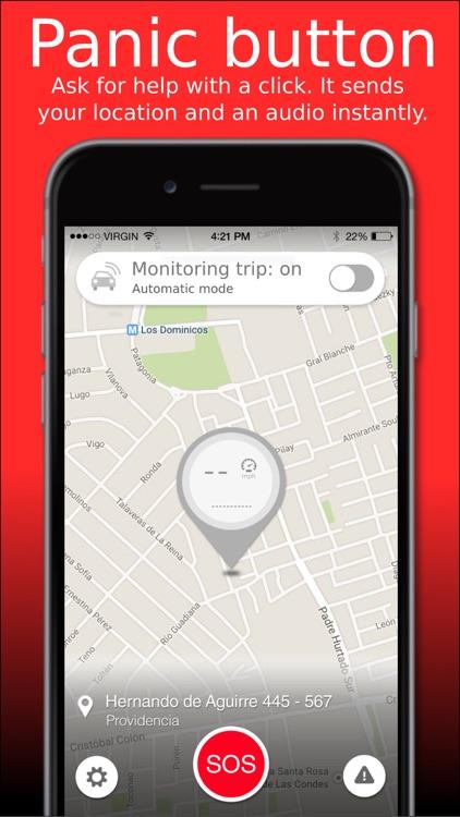 SOSmart automatic car crash detection