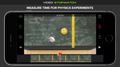 Screenshot #4 for Video Stopwatch - Time Analysis for Sports and Physics
