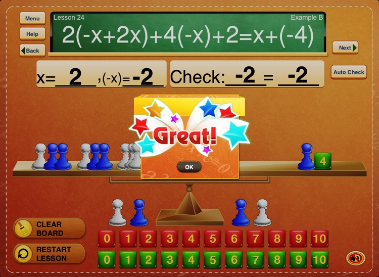 Hands-On Equations 3 screenshot-4