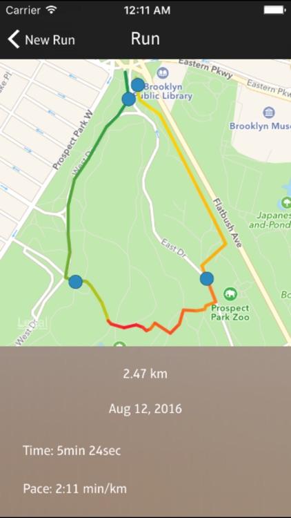 Run Saver - daily runs, cycling or walking