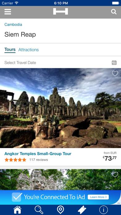 Ciudad de Siem Riep Hoteles + Compara y Reserva de hotel para esta noche con el mapa y viajes turísticosCaptura de pantalla de2