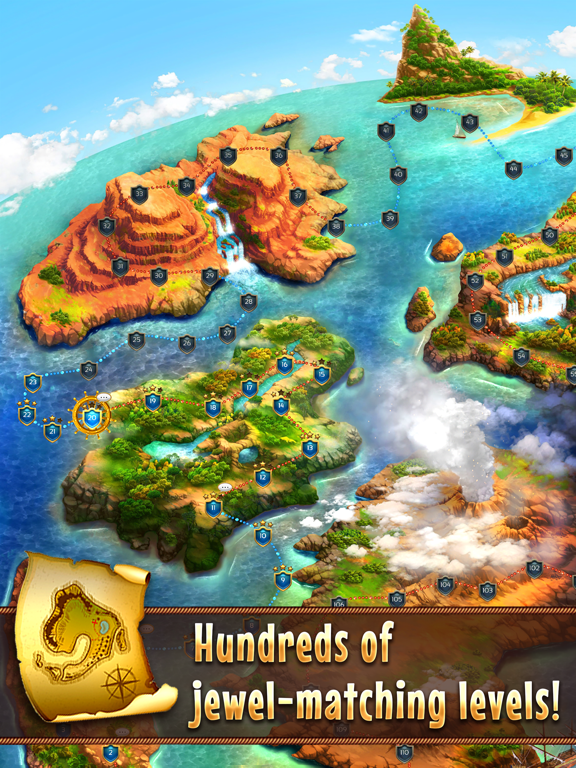 Jewel Quest 7 Seas: Match 3 Games by iwin, Inc  (iOS, United