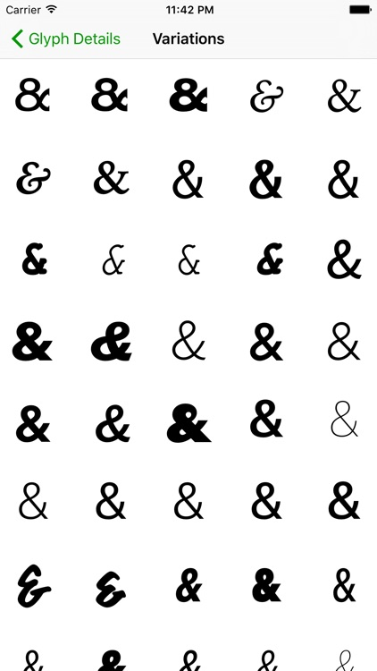Unicode Character Viewer screenshot-3