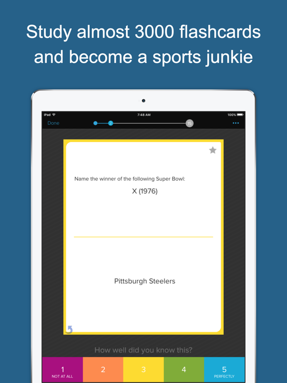 Learn Sports Trivia screenshot